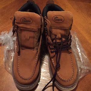 Cobra Shoes - Cobra work boots. Men's 8.5.